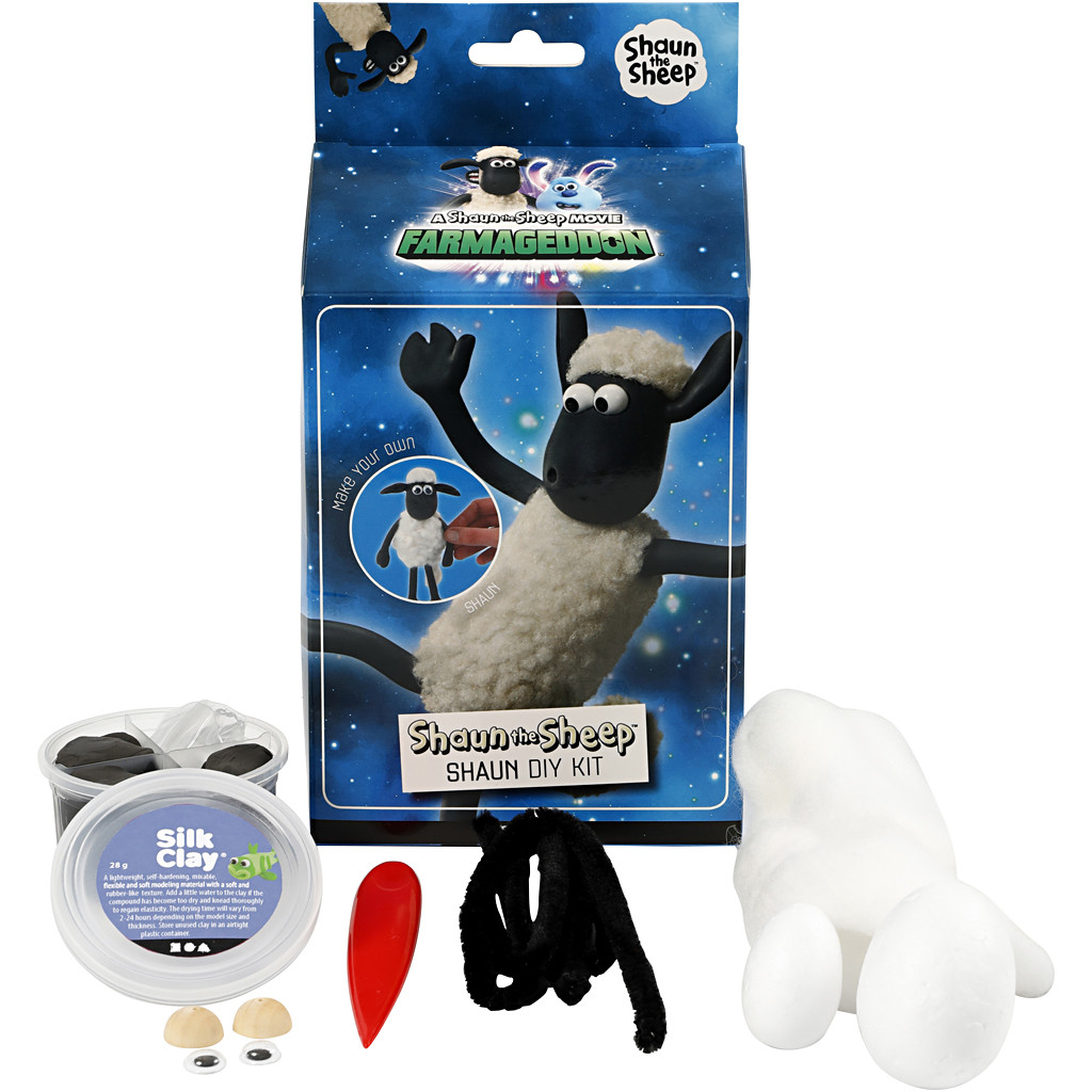 Shaun the Sheep DIY kit