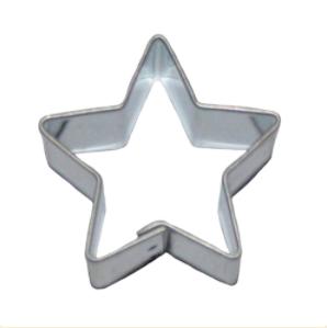 Femarmet stjerne - 75 med mer Pepperkakeform, kakeutstikker