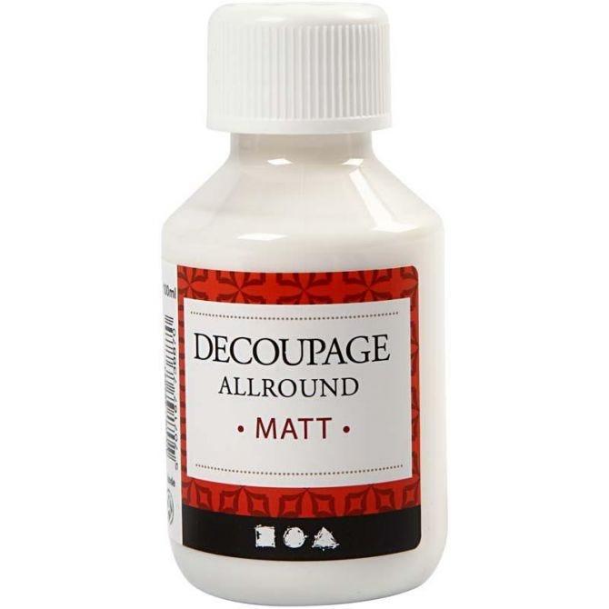Decoupage lakk, matt, 100 ml