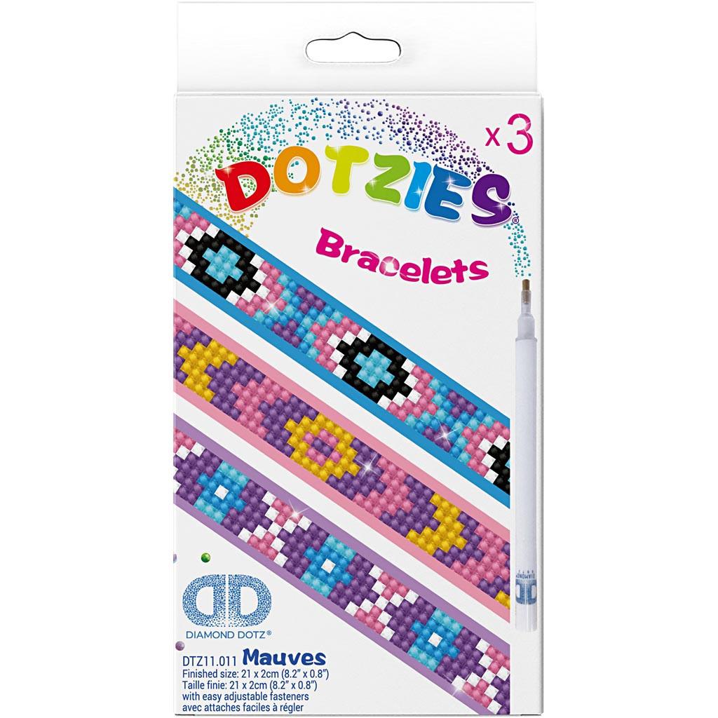 Armbånd / Bracelets, Diamond Dotz