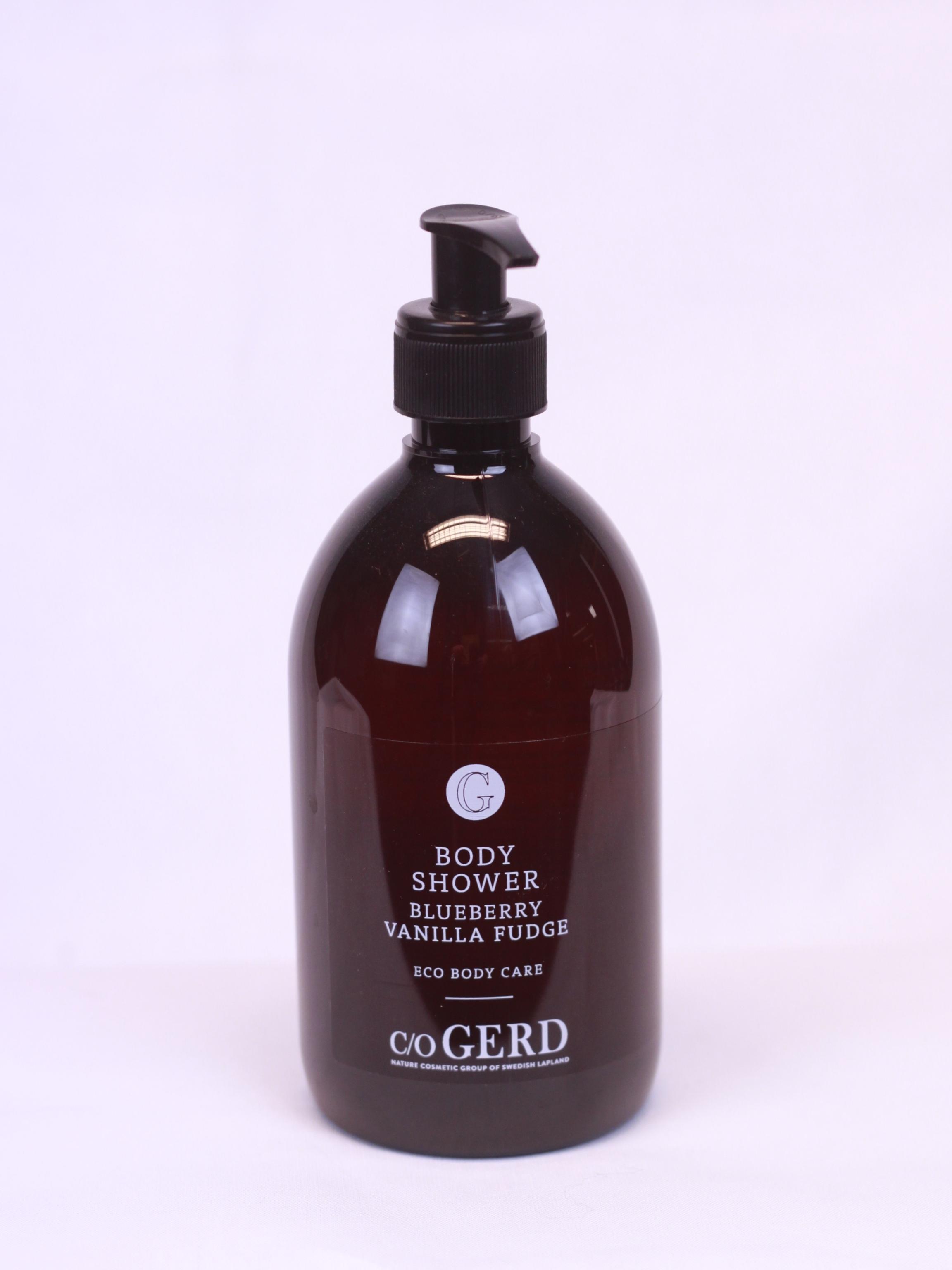 Body Shower Blueberry Vanilla Fudge