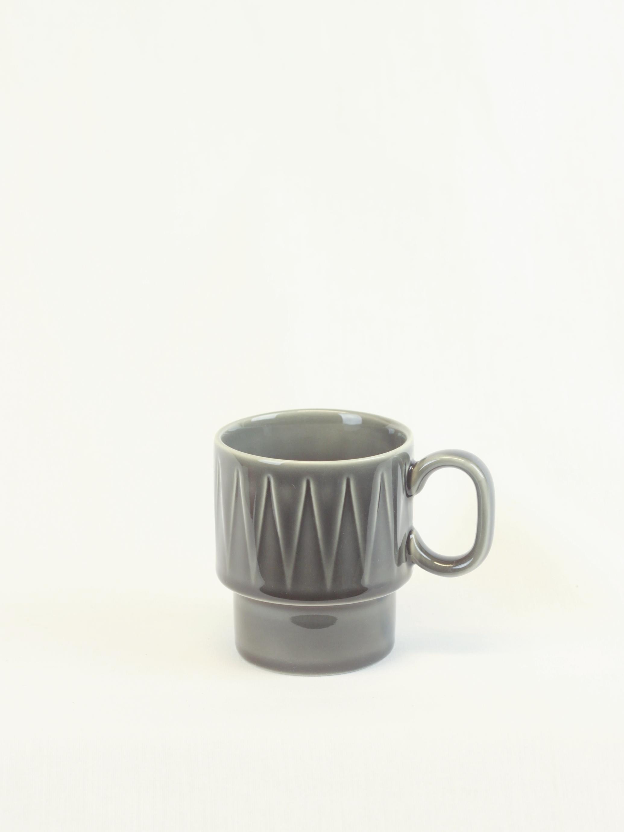 Kaffekopp COFFE AND MORE grå