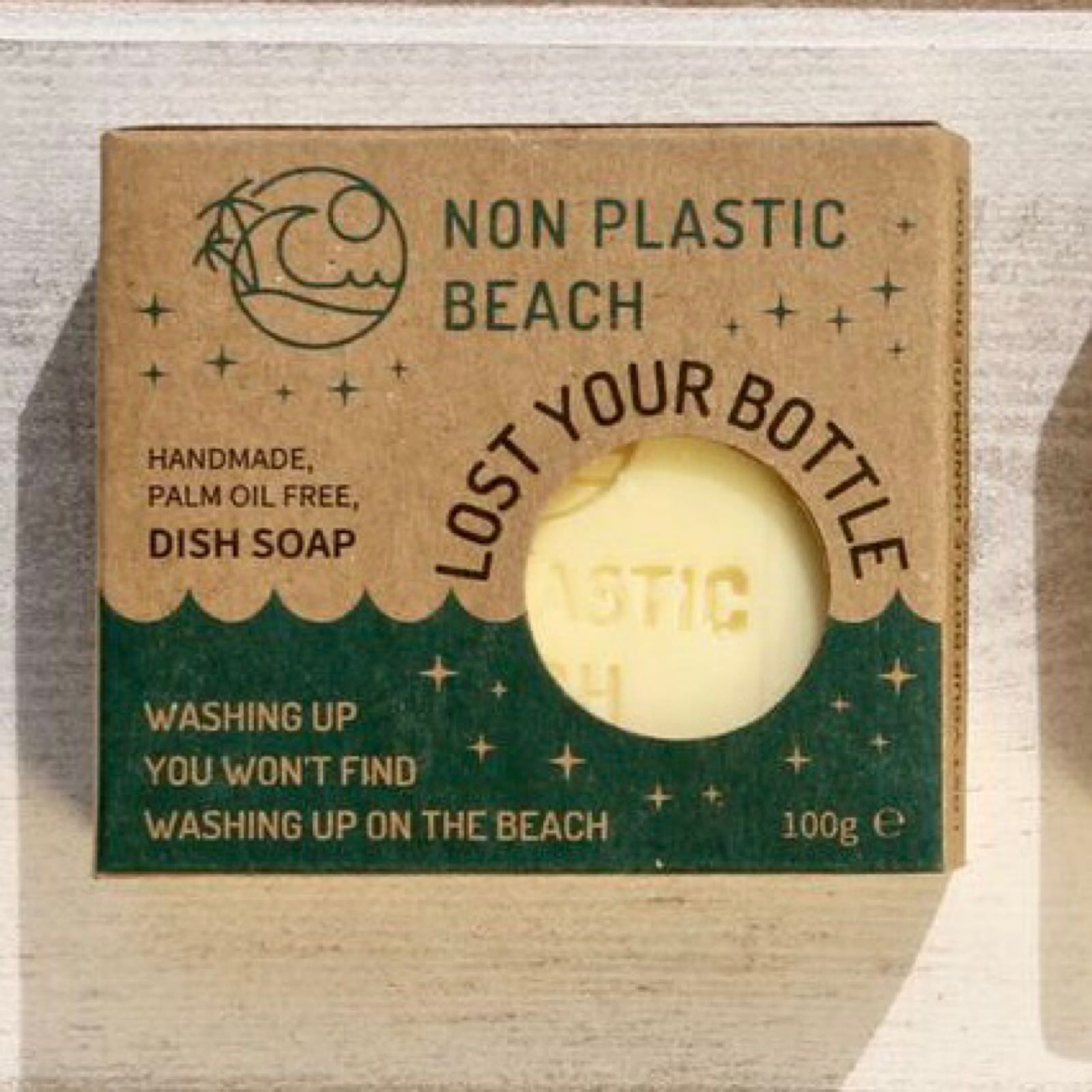 'Lost Your Bottle' Plastic Free Dish Soap