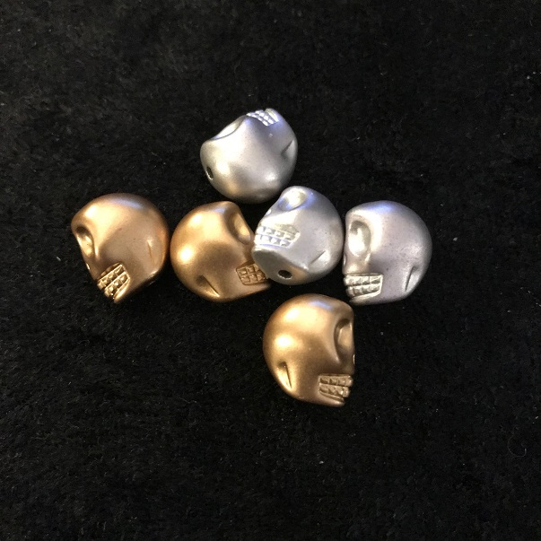 Guld och Silver dödskallar*