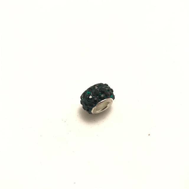Pärla, Stort hål, Grön*