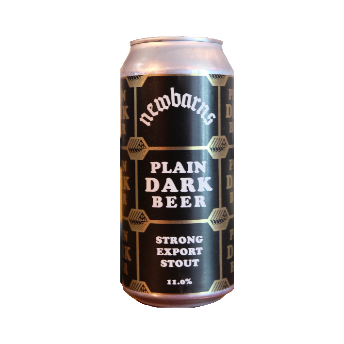 Newbarns Plain Dark Beer 440ml