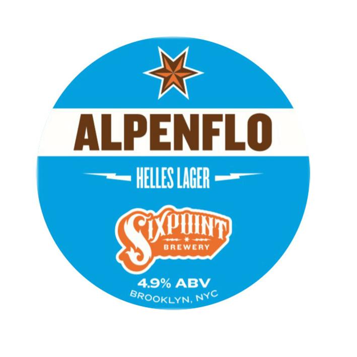 Six Point Alpenflo Helles Lager - Keg