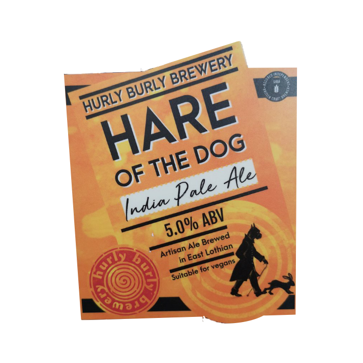 Hurly Burly Hare of the Dog - Cask