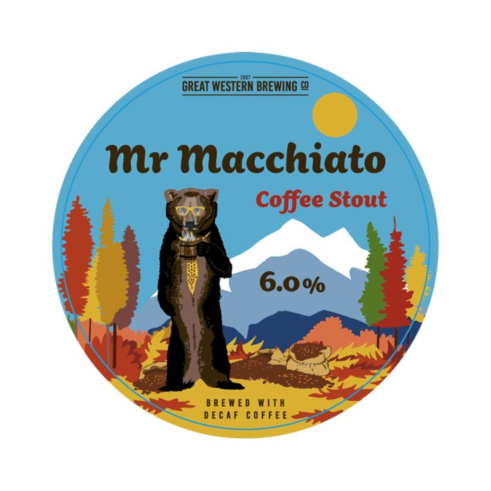 Great Western Mr Macchiato Coffee Stout - Keg