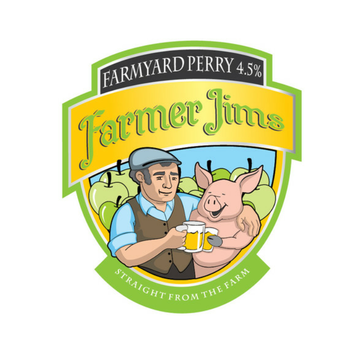 Farmer Jim's Farmyard Perry - Cask