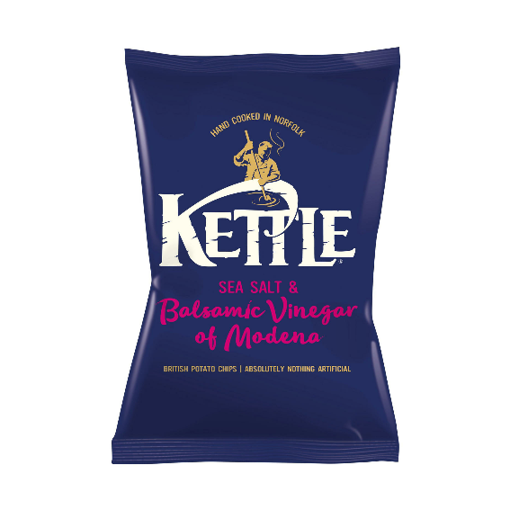 Kettle Chips Seasalt Balsamic Vinegar