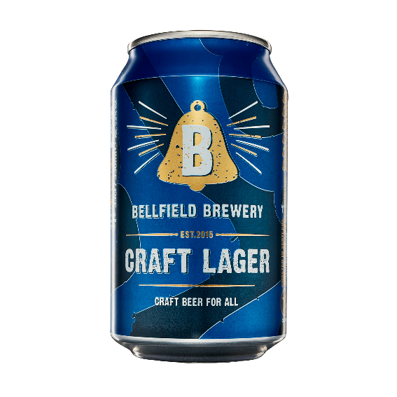 Bellfield Craft Lager 330ml