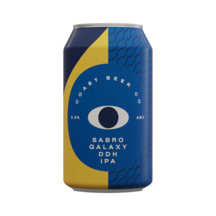 Coast Sabro Galaxy DDH IPA 0% 330ml