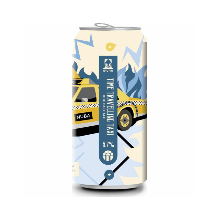 Brew York Time Travelling Taxi 440ml