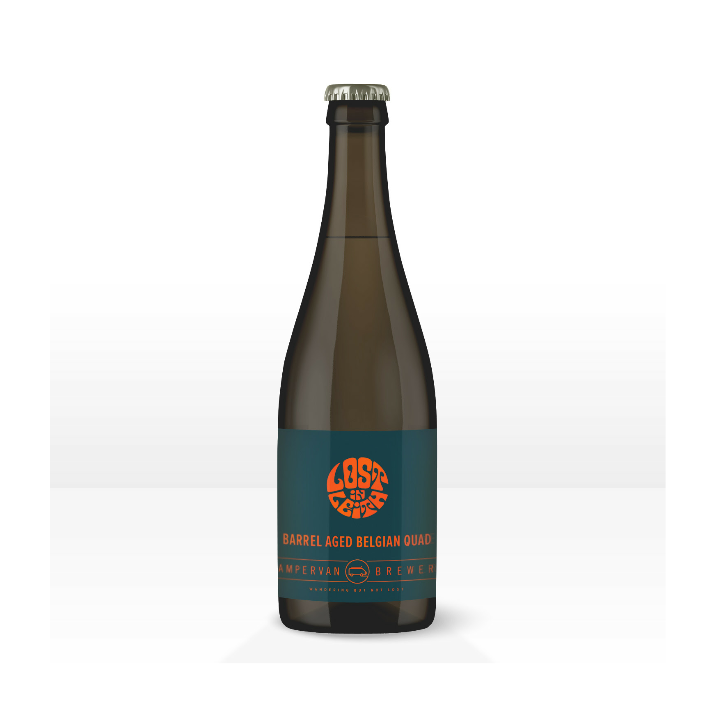 Campervan Lost in Leith Barrel Aged Belgian Quad 375ml