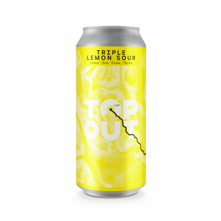Top Out Triple Lemon Sour 440ml