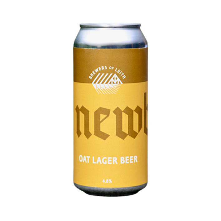 Newbarns Oat Lager Beer 440ml