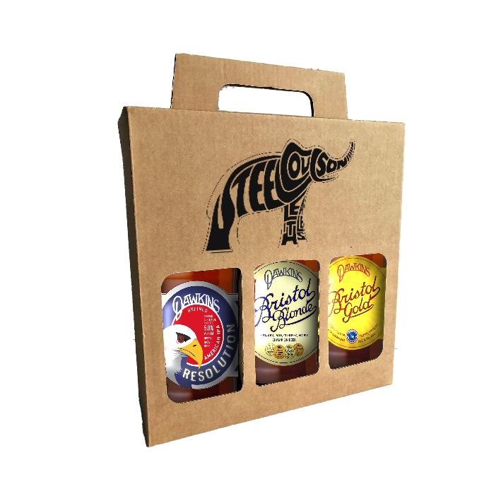 Dawkins beers gift box