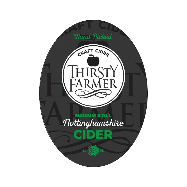 Thirsty Farmer Medium Cider - Cask