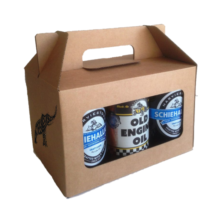 Six can gift box