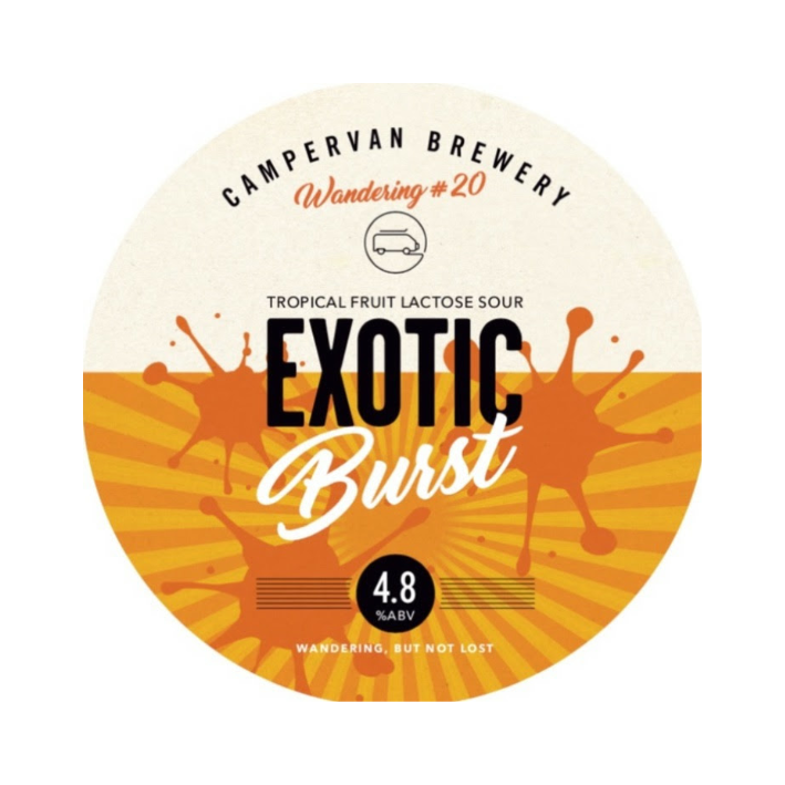 Campervan Exotic Burst - Keg