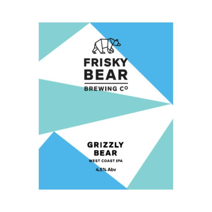 Frisky Bear Grizzly Bear IPA - Cask