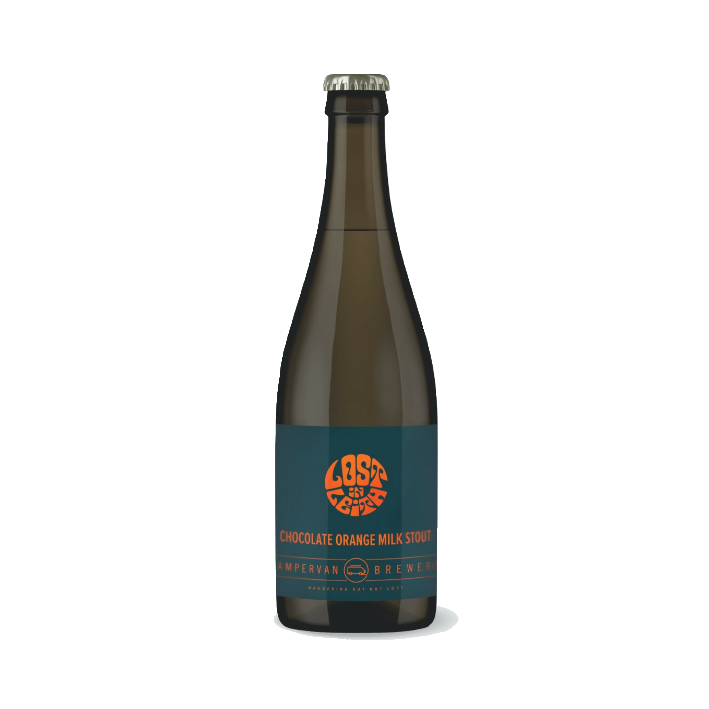 Campervan Lost in Leith Chocolate Orange Milk Stout 375ml