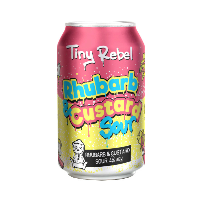 Tiny Rebel Rhubarb and Custard Sour  330ml