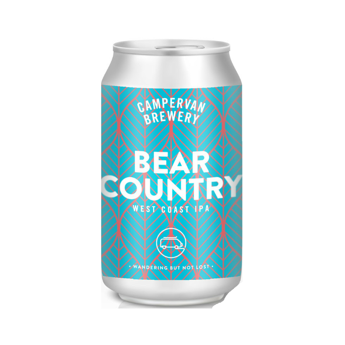 Campervan Bear Country 330ml