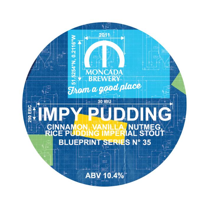 Moncada Impy Pudding - Keg