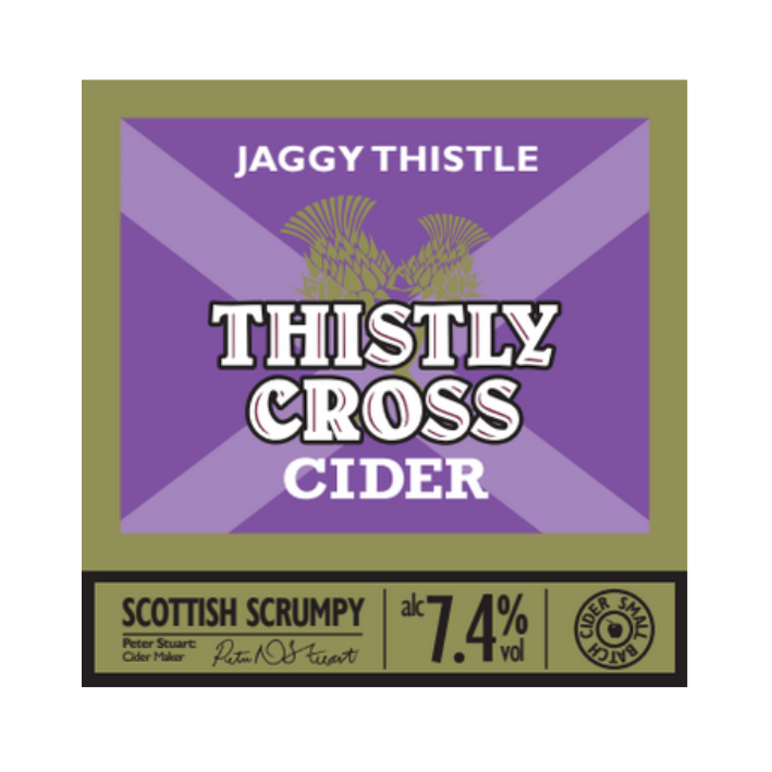 Thistly Cross Jaggy Thistle - Cask