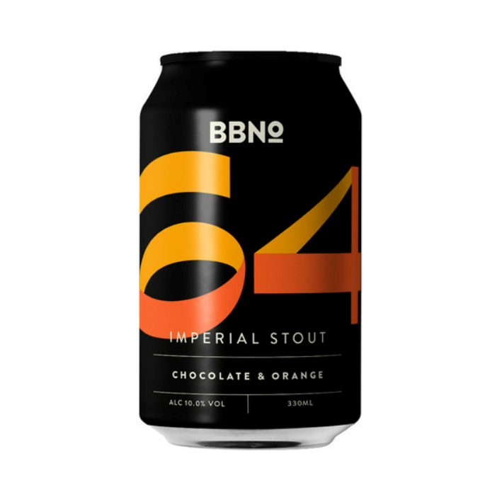 Brew By Numbers 64 Imperial Stout - Chocolate & Orange 330ml