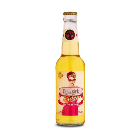 Celtic Marches Lily The Pink Cider 330ml