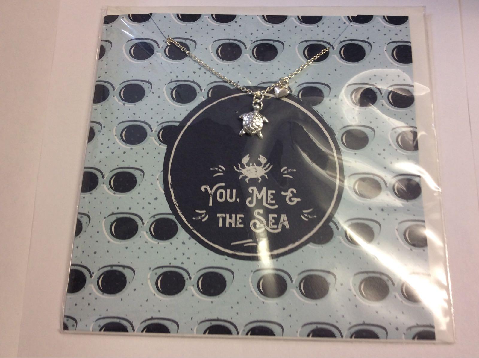 Sea Shed You Me & The Sea Jewellery Card