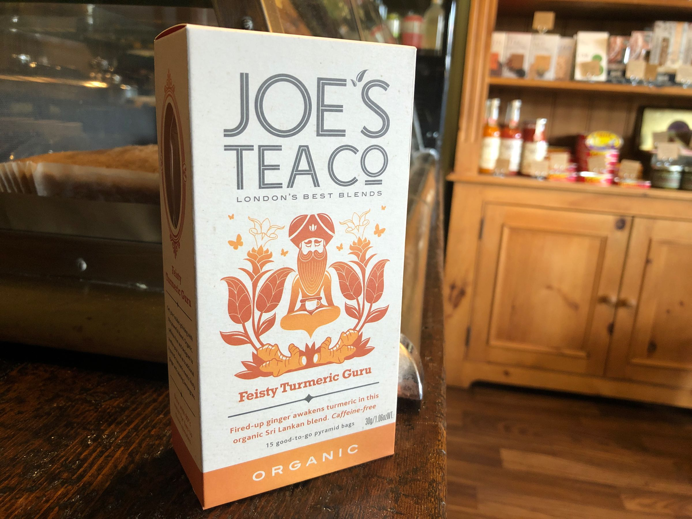 Joe's Tea Co. Feisty Turmeric Guru - Organic