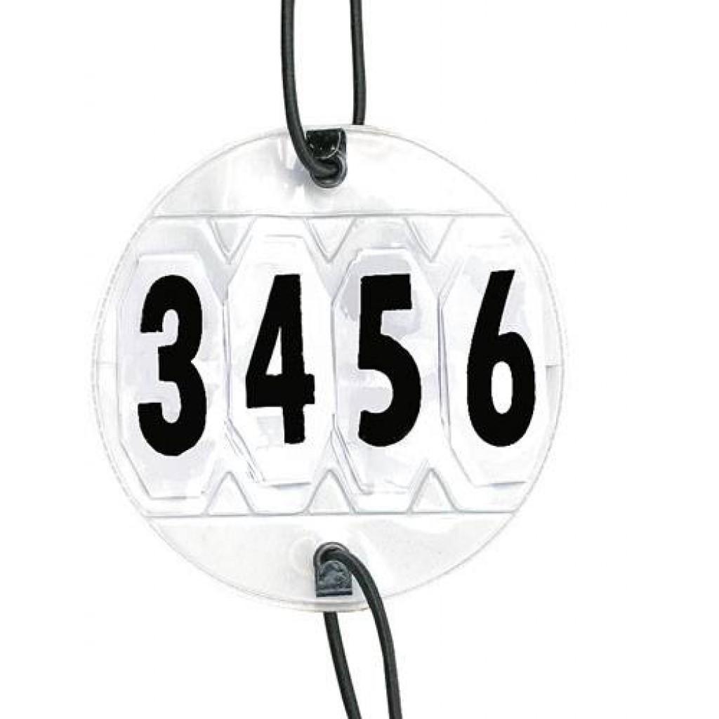Nummerlapp 4-siffror
