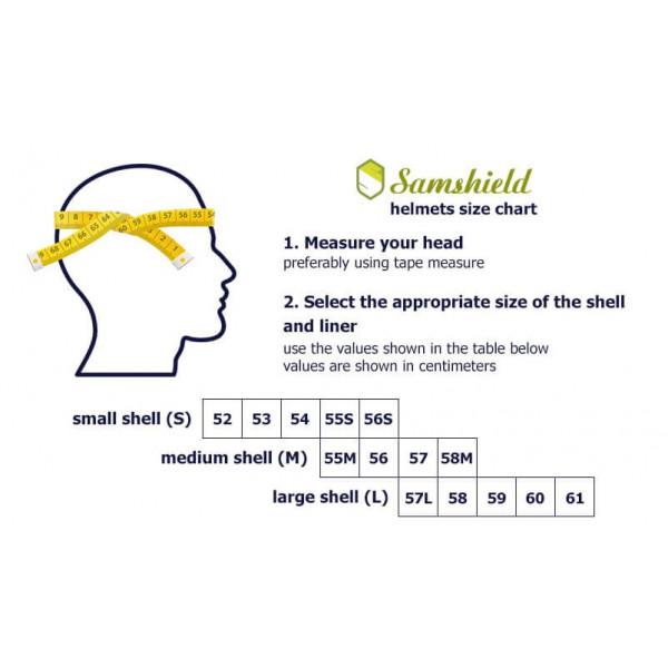 Samshield Miss Shield Shadowmatt Shimmer Chrome