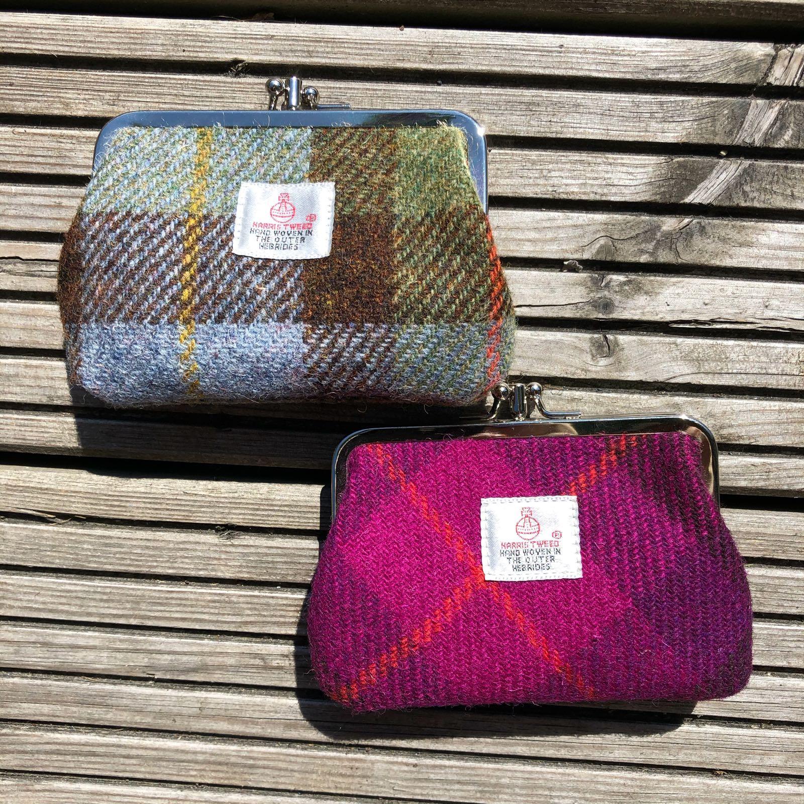 Harris Tweed Josie Purse SALE 30% (£20)