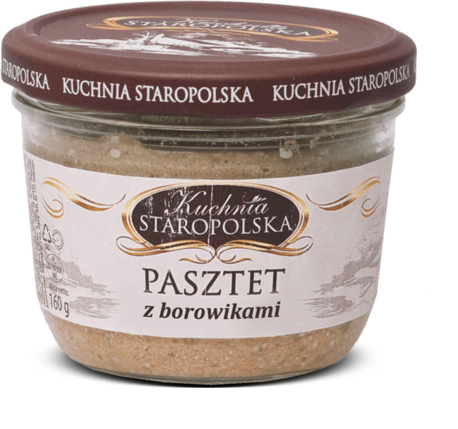 Herkkutattipatee - Pasztet z borowikami Kuchnia Staropolska 160g