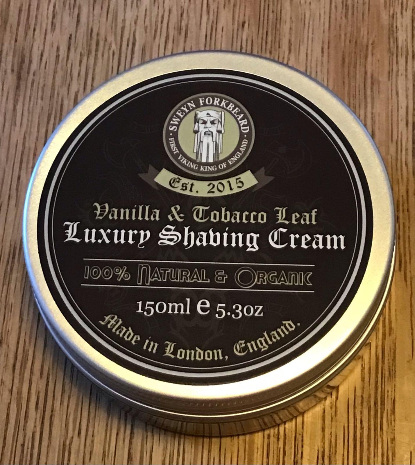 SF Vanilla & Tobacco Leaf  Shaving Cream