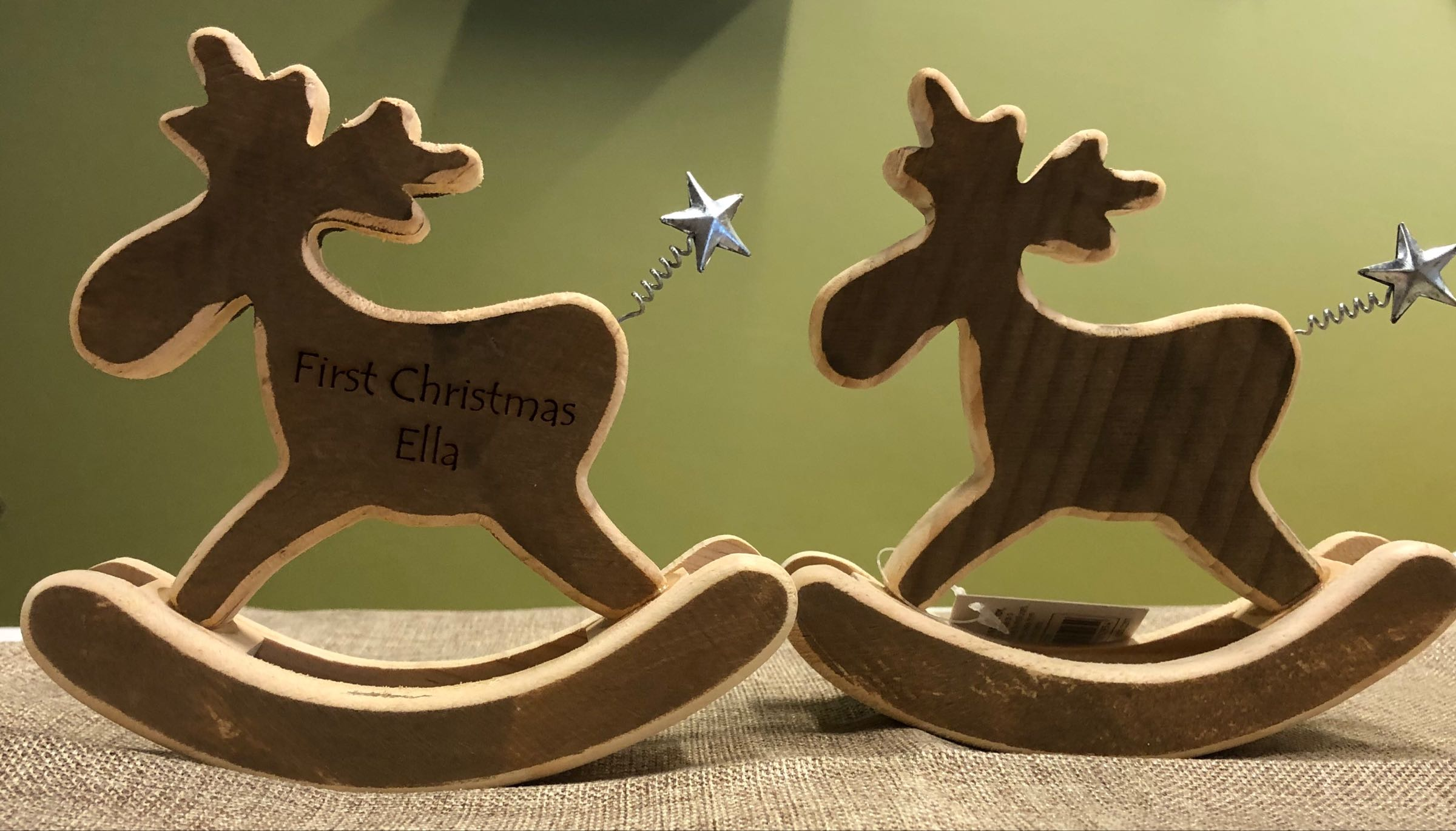 Rocking moose (can be personalised)