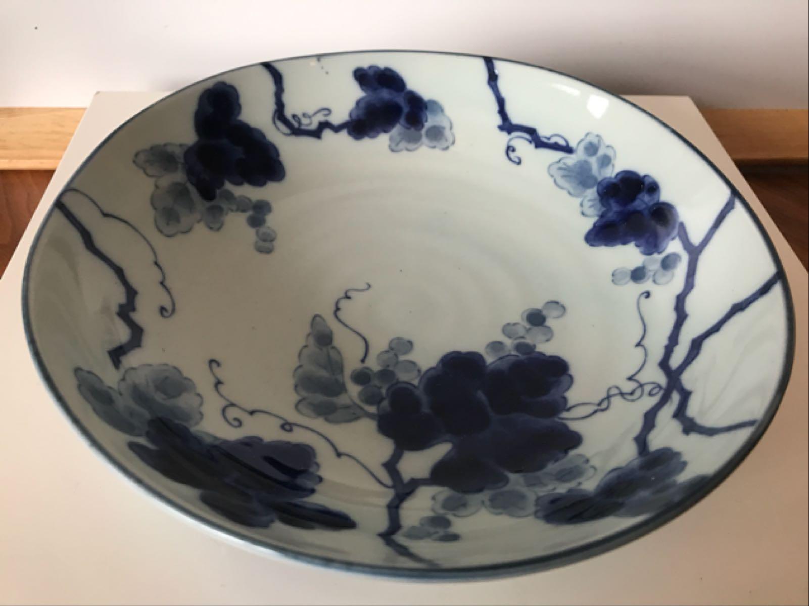 Blue & White Floral Bowls