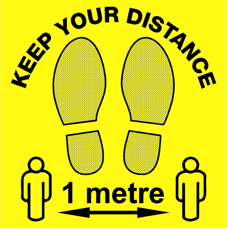 COVID - KEEP YOUR DISTANCE