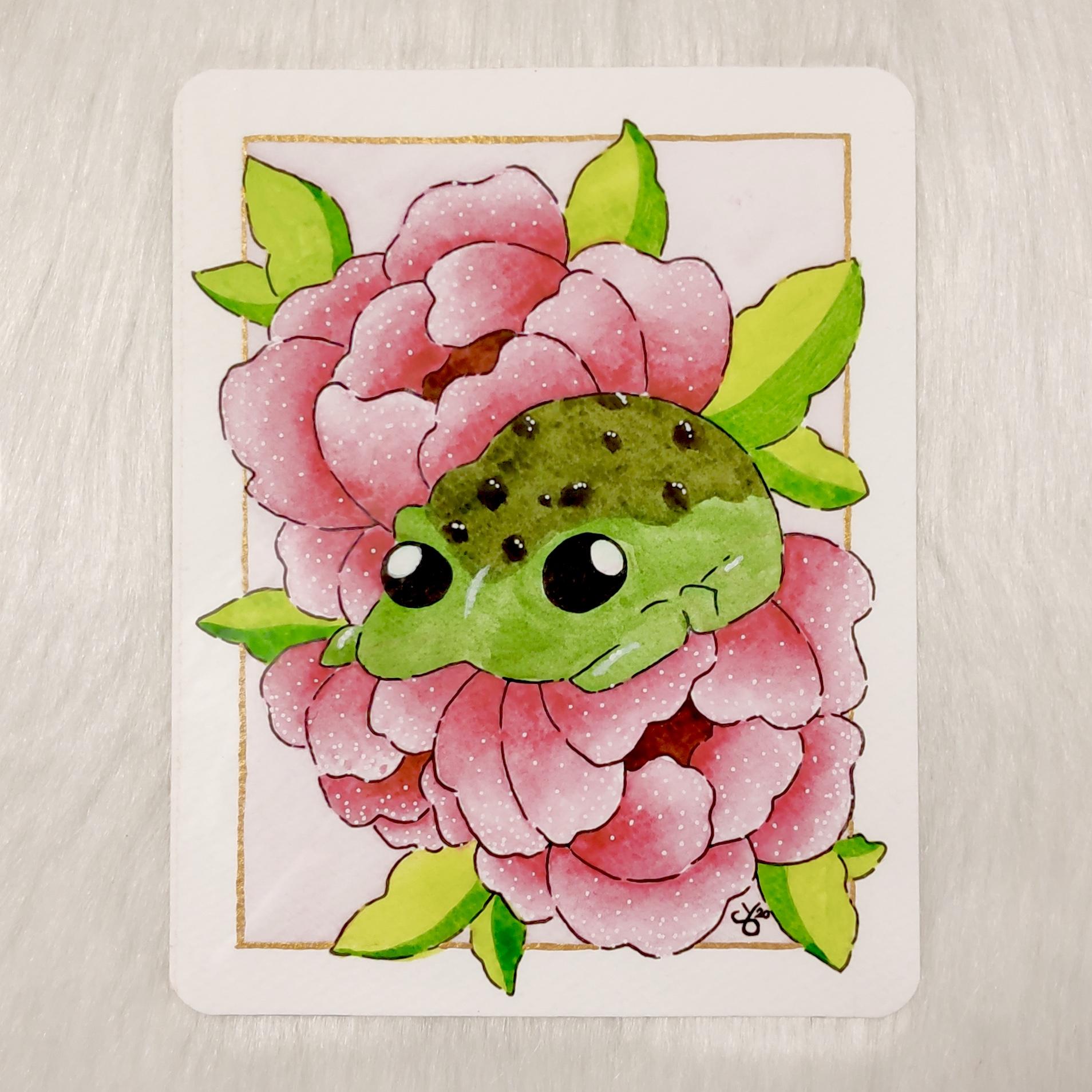 Tired Froggo