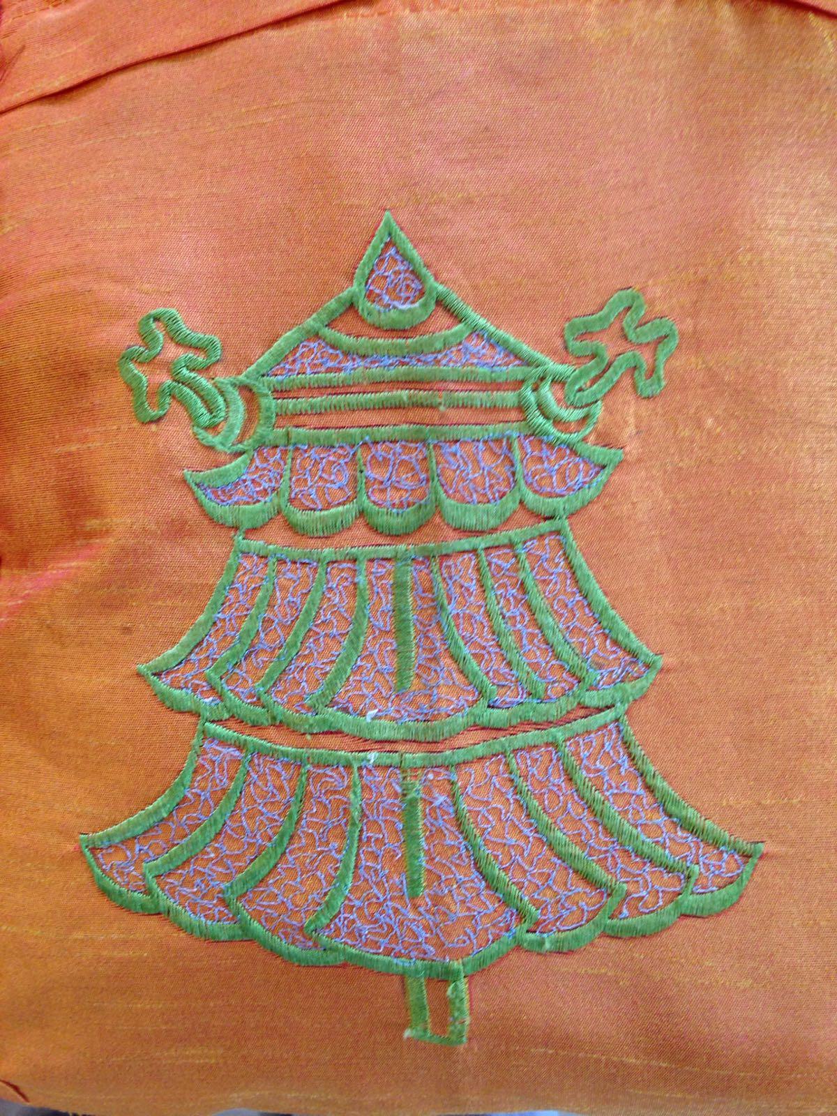 Tibetansk - skuldeveske