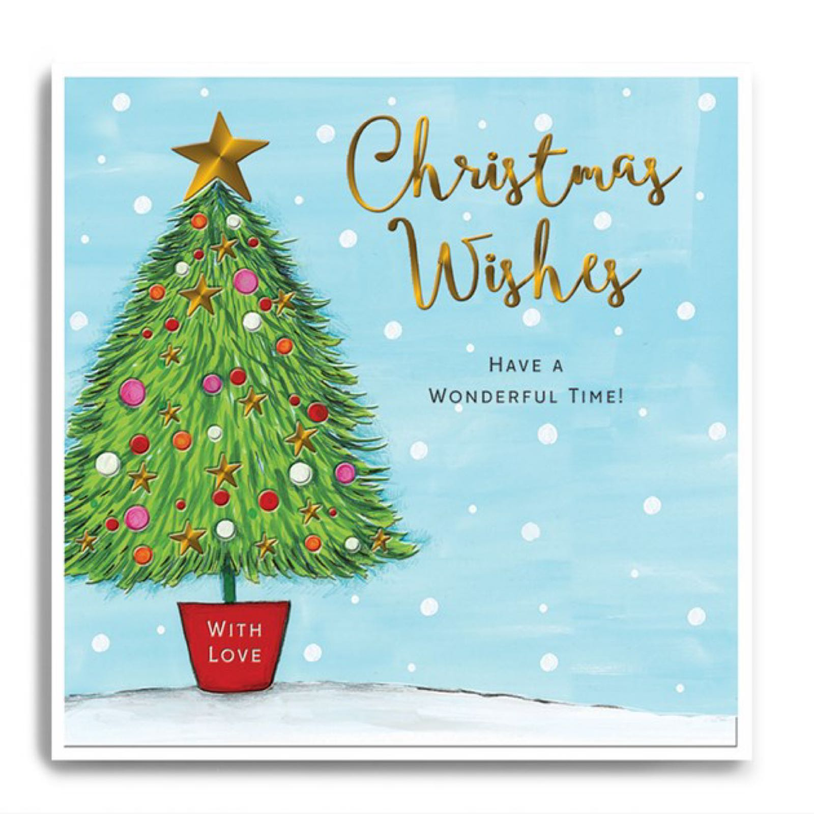 Janie Wilson Christmas Wishes Christmas card