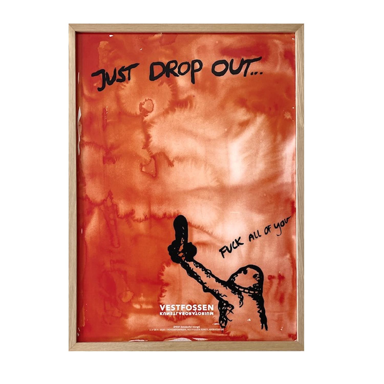 BJARNE MELGAARD: Just Drop Out...