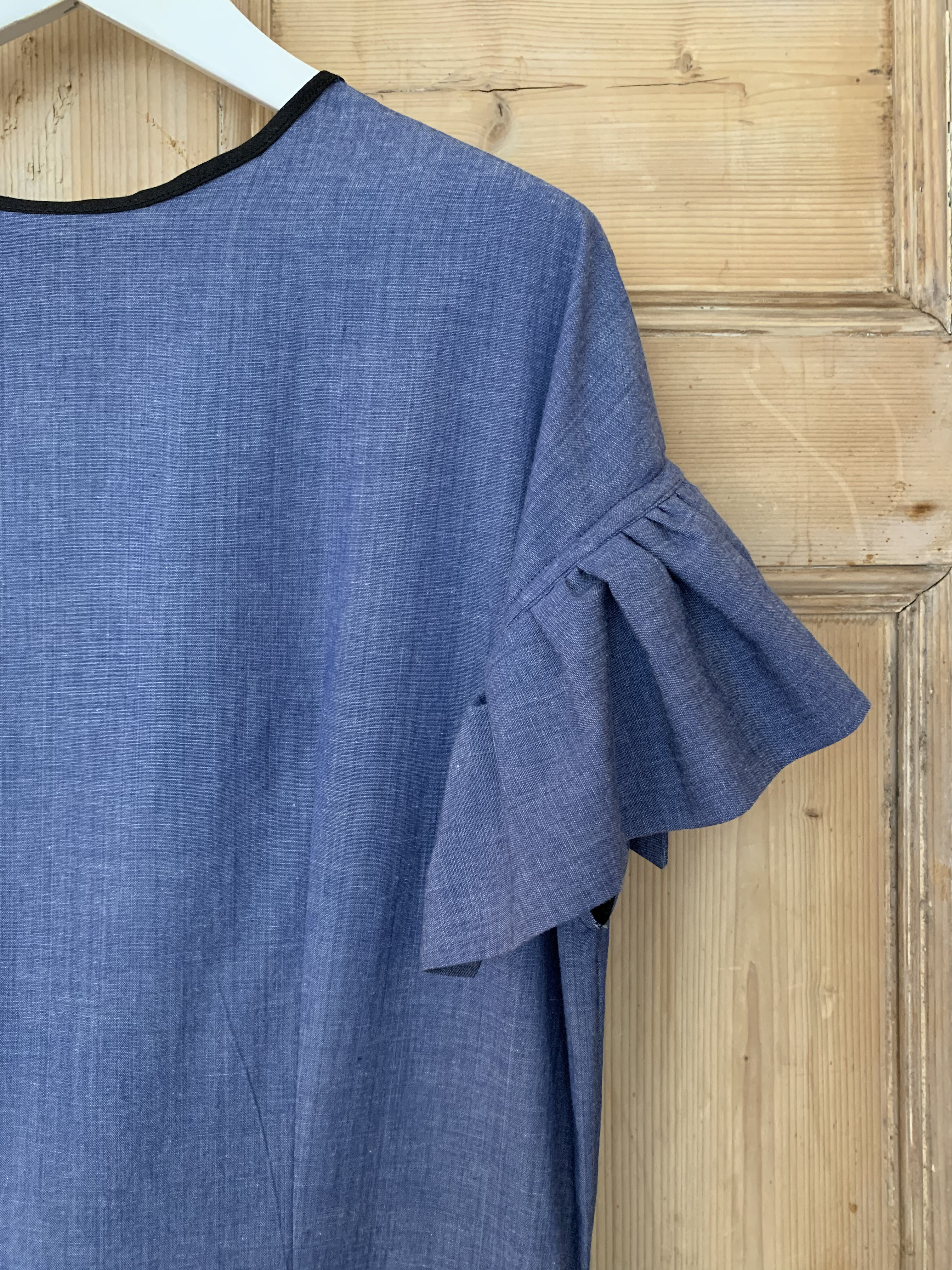 Chambray Party Dress