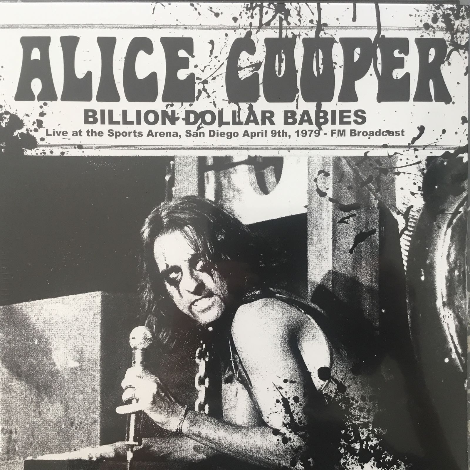 Alice Cooper - Billion Dollar Babies Live At The Sports Arena, San Diego [LP]