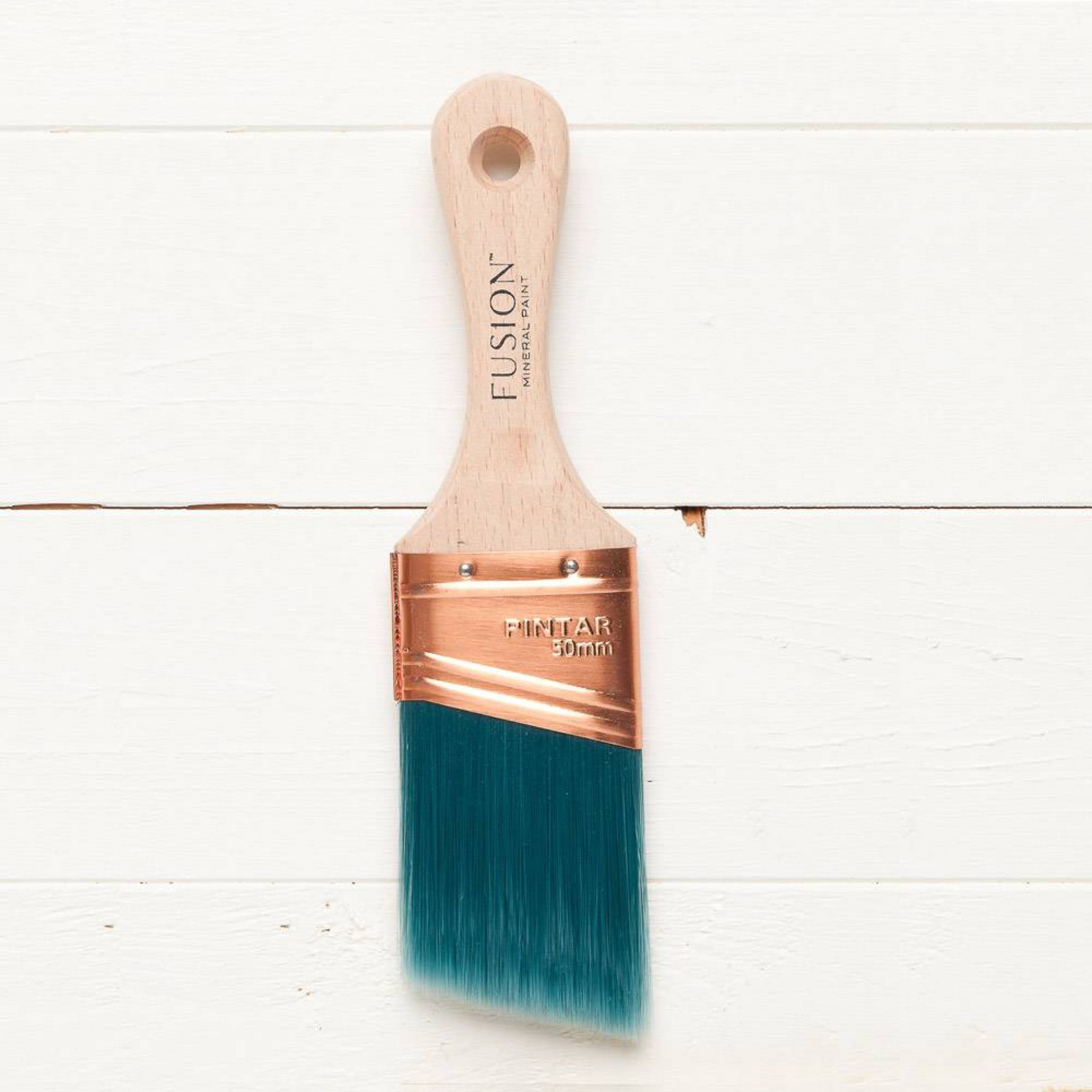 Fusion Mineral Paint Angled Synthetic Paint Brush